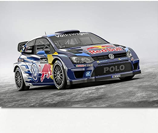 QAZEDC Pintura Decorativa Sport Car Polo R WRC Typ R Race Racing ...