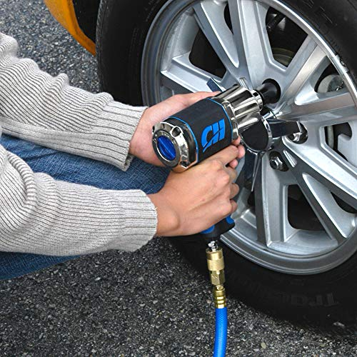 1/2'' Impact Wrench, Air Impact Driver W/550'/Lbs Torque (Campbell Hausfeld TL140200AV) by Campbell Hausfeld (Image #3)