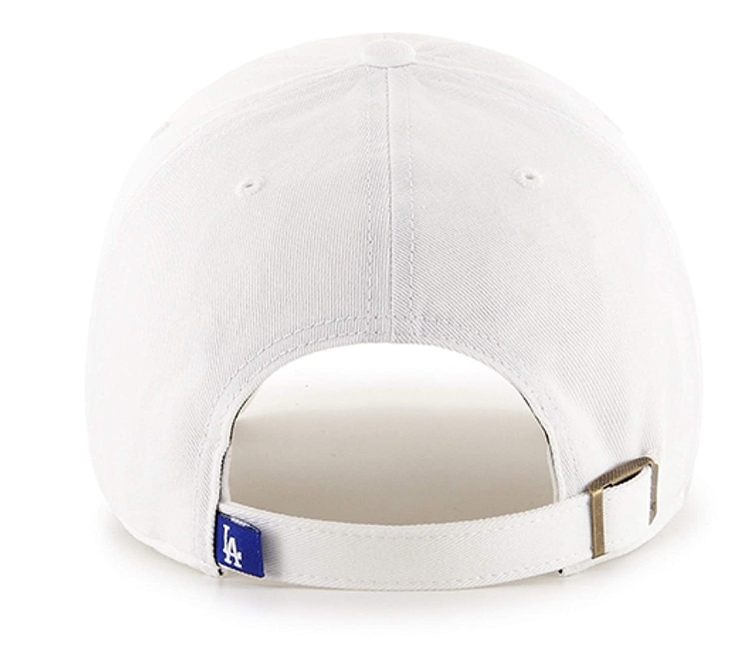 47 Los Angeles Dodgers White Clean Up Dad Hat Adjustable Slouch Cap