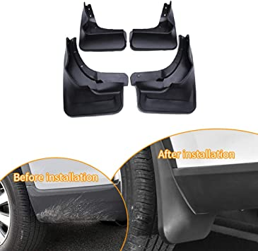 Fit 2007-2011 Toyota Camry OE Style Front Rear Splash Guards Mud Flaps