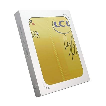 Geraint Thomas Signed Tour De France 2018 Pro Yellow Jersey In Gift Box  e78d78c4d