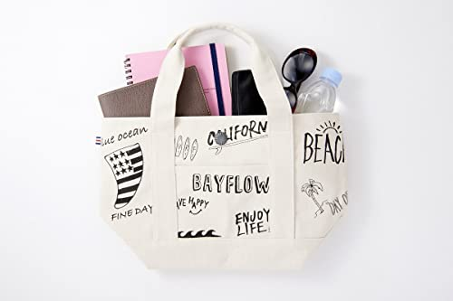 BAYFLOW surf tote bag book 画像 E