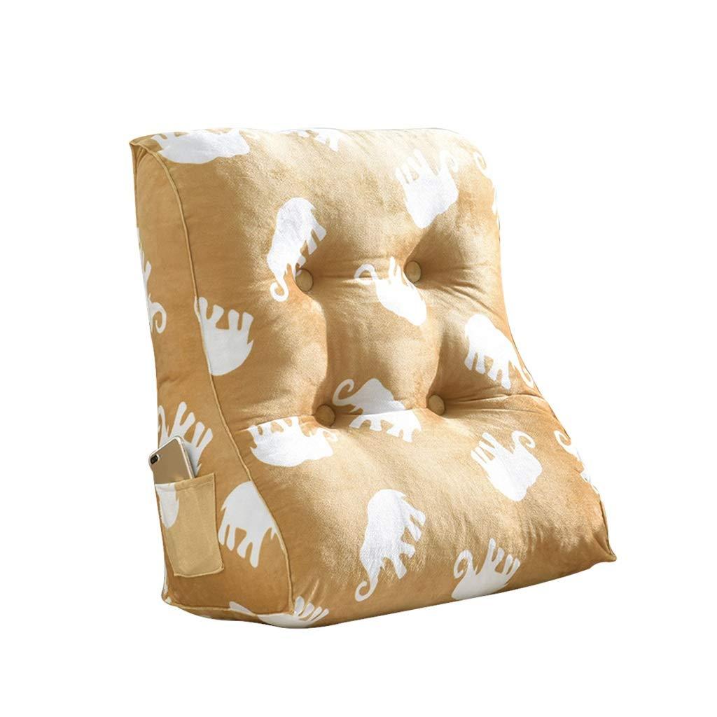 GWM Bettkeil, Keil für Wohnzimmer und und und Schlafzimmer, Schlafkeil, zur Linderung der Wirbelsäule , Stillen Pillowsfor liegen und sitzen (Farbe   K, größe   60x55x30cm) B07P12Q1ZF Kissen Sofortige Lieferung ca6489