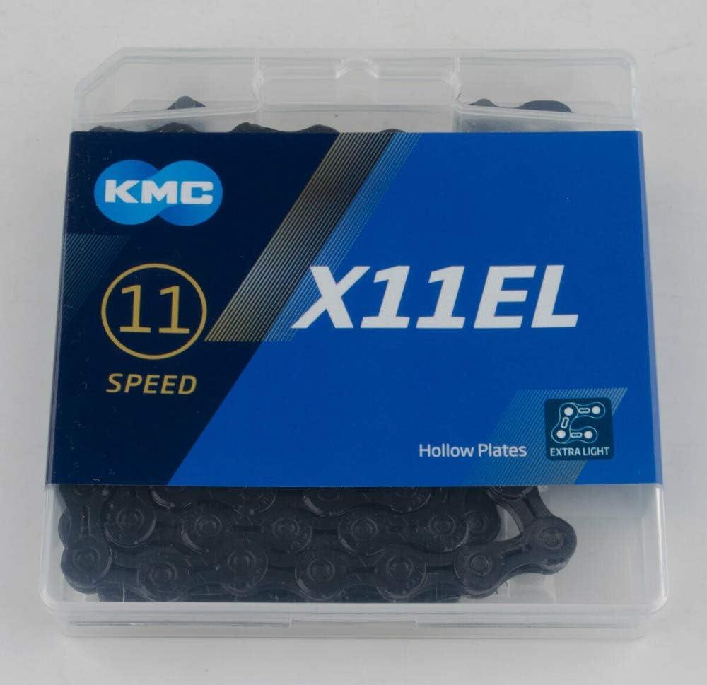 KMC Chain X-11-el Cadena Estrecha, Unisex Adulto: Amazon.es ...