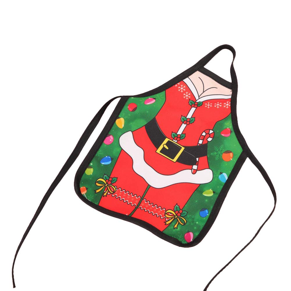 MoGist Mini Christmas Apron Bottle Cover Wine Bottle Bags Bottle Set Gift Bag Christmas Table Dinner Decoration Home Party Decors