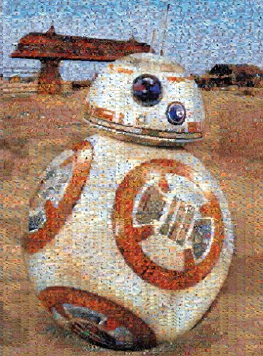 Star Wars - Photomosiac - BB-8 - 1000 Piece Jigsaw Puzzle by Buffalo Games