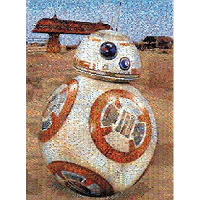 Buffalo Games Bb 8 Star Wars Episode Vii Photomosaic Puzzle 1000 Piece By Buffalo Games