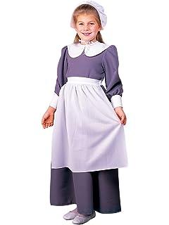 09142f585f3 Amazon.com  California Costumes Pilgrim Girl Child Costume
