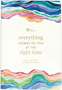Erin Condren Monthly Petite Planner - (January - December 2021) 12 Months of Calendar Spreads, Note Pages and More. Perfect for Managing Monthly Schedules, Tracking Appointments