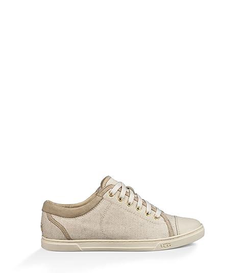 001ca1b899c UGG Australia Womens Taya Canvas Sneakers in Cream 6.5 W US: Amazon ...