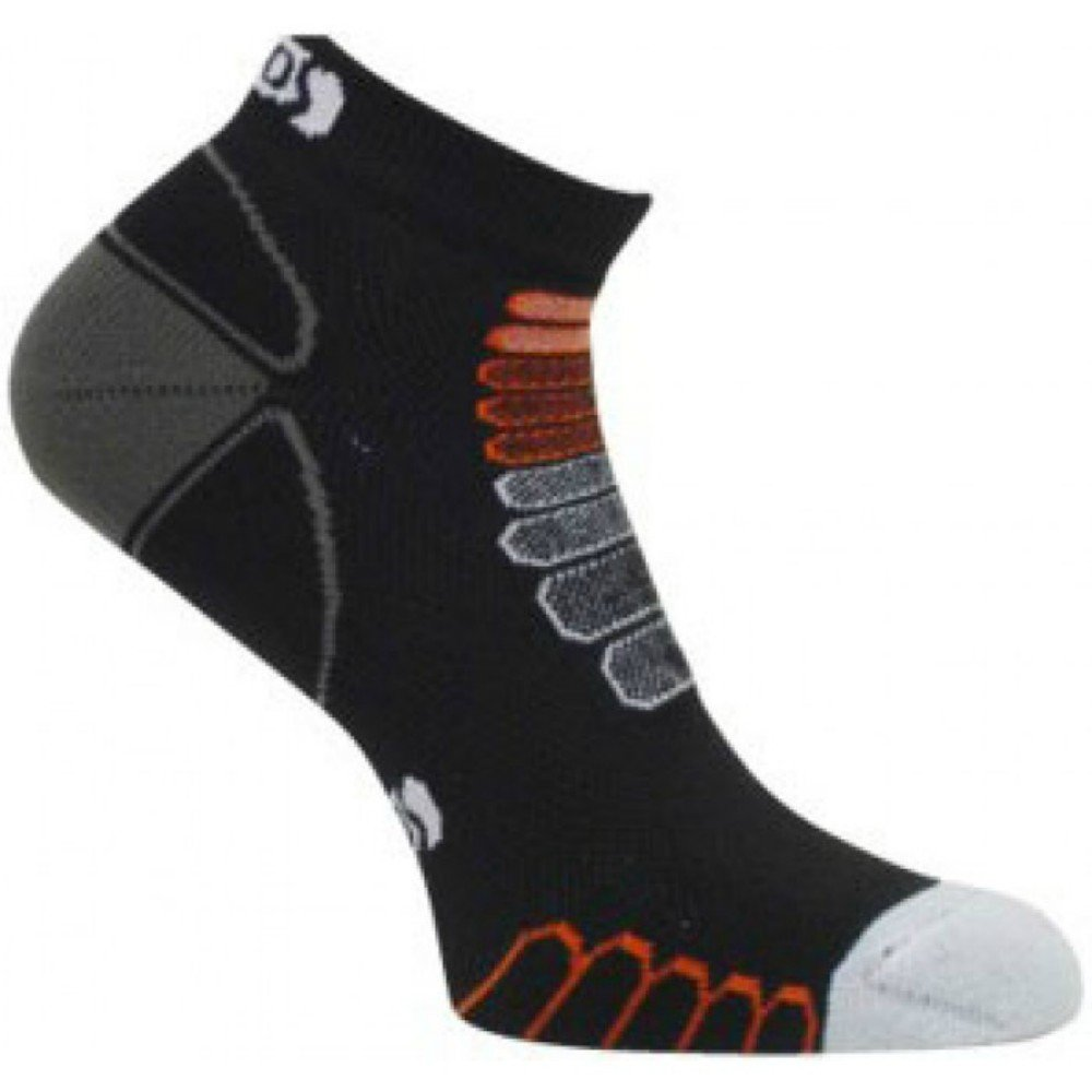 Eurosocks 5K Silver Sock, Black/White, Medium