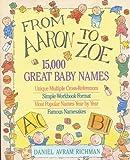 From Aaron to Zoe, Daniel Avram Richman, 0316744441