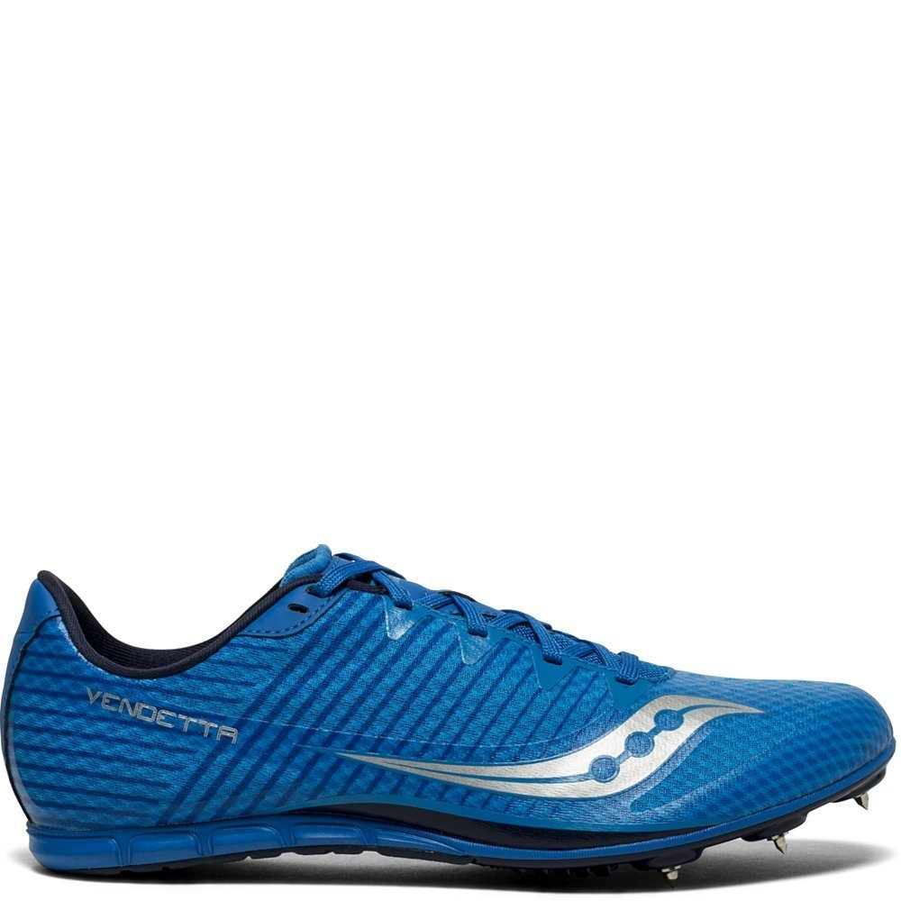 Saucony Men's Vendetta 2 Track Field Shoe, Royal/Silver, 12.5 Medium US by Saucony