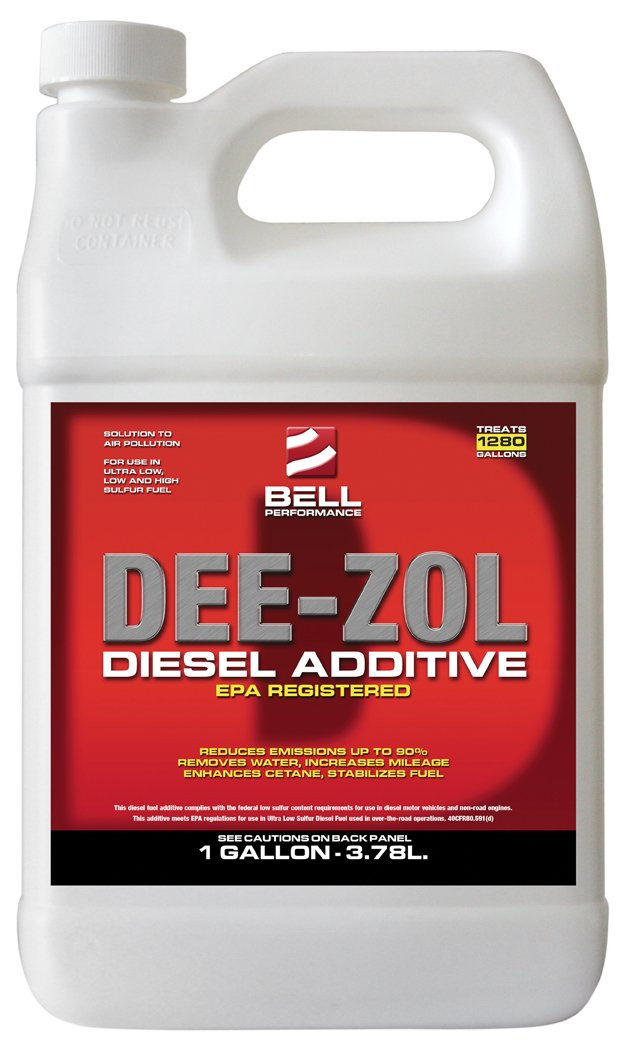 Bell Performance - Dee-Zol Concentrate Diesel Treatment - 1 Case (4 - 1 Gal.) - SAVE 21% by Bell Performance