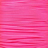 Tactical Cord 425 LB Tensile Strength 3 Strand Core Paracord Spools - 250 Foot and 1000 Foot Size Options (Neon Pink, 1000 Feet)