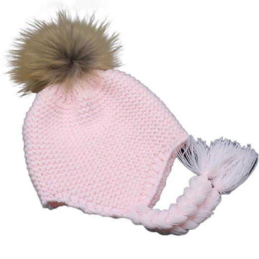 Amazon.com  Alonea Toddler Baby Earmuffs Knitted Warm Winter Infant ... 940c7de72b70