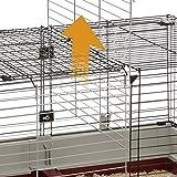 Ferplast Krolik XXL Rabbit Cage w/Wire Extension