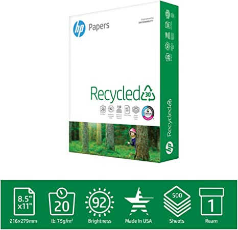 Amazon.com: hew112100 – HP Oficina Papel Reciclado: Office ...
