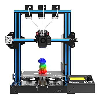 Amazon.com: Geeetech A10T Tricolor 3D Printer,with The ...