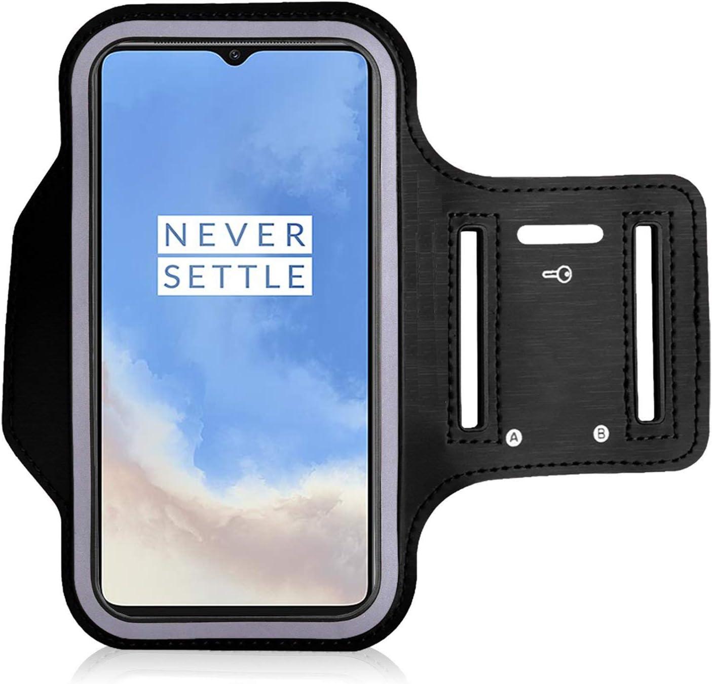 Fascia da Braccio per Auricolare Sweatproof Bracciale con Corsa e Porta Chiavi e prolunga da Polso OnePlus 6T Custodia da Braccio iPro Accessories OnePlus 6T Corsa Custodia Adatto per OnePlus 6T