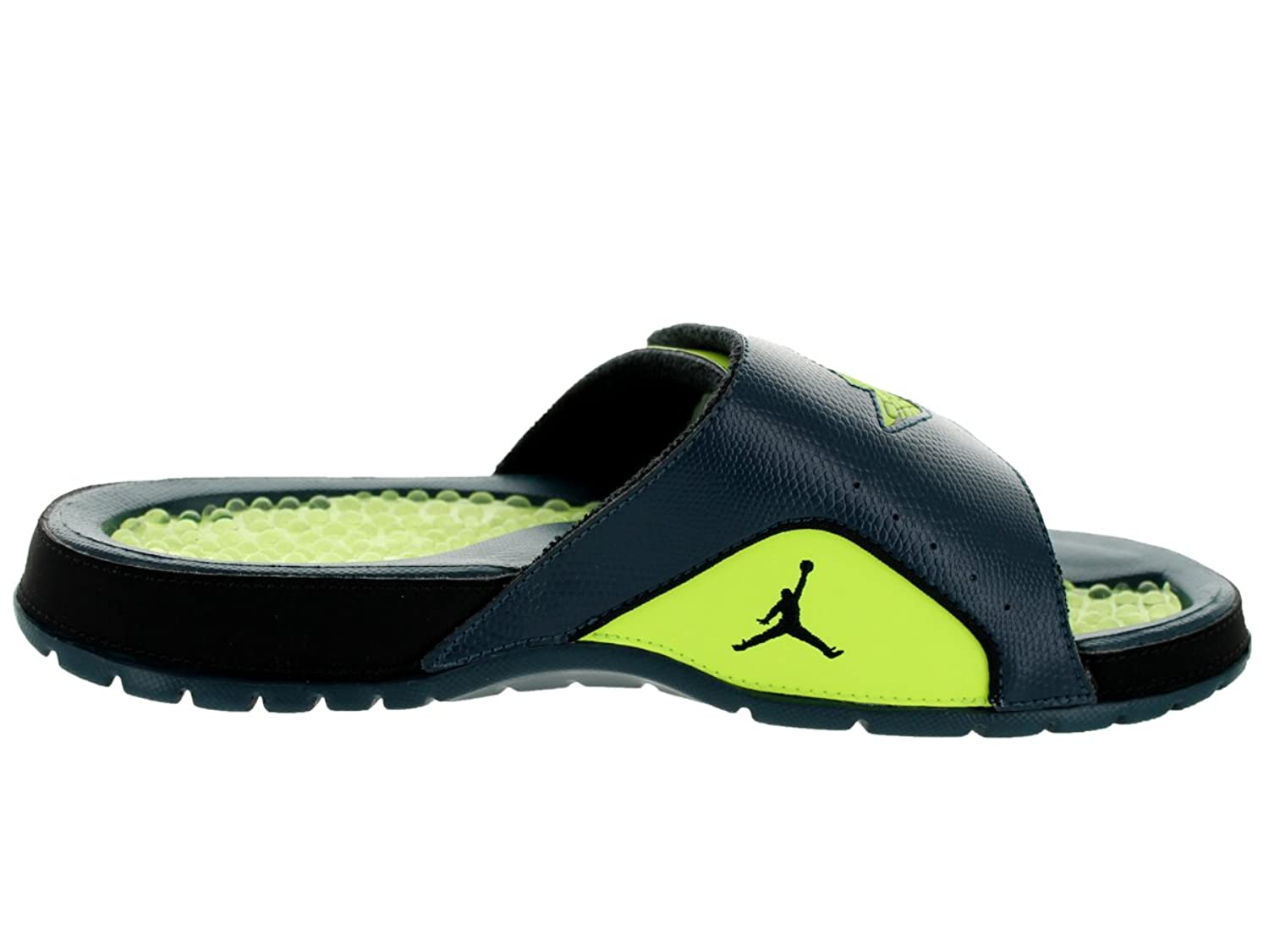 Amazon.com | Nike Jordan Men's Jordan Hydro II Retro Nightshade/Volt Ice/Black  Sandal 13 Men US | Sandals