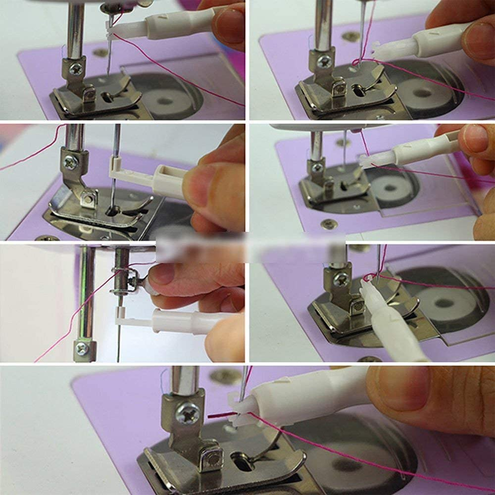 Enhebrador automático inserción aplicador mango de hilos para dise ...