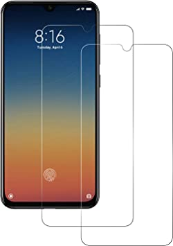 POOPHUNS Cristal Templado Xiaomi Mi 9 SE, 2-Unidades Protector de ...