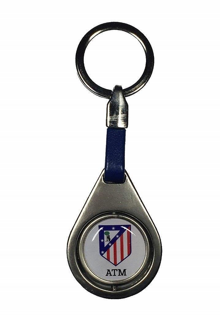 Seva Import AT. Madrid Llavero, Blanco, Talla Única: Amazon ...