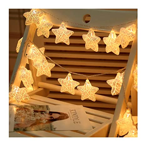 9accada5791 Amazon.com   Kennedy us Twinkle Star 20 LED 9.8 FT Star String ...