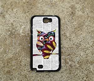 For Case Iphone 4/4S Cover Colorful OWL BEST Unique COOL Hard COVER