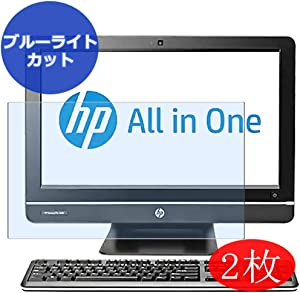 【2 Pack】 Synvy Anti Blue Light Screen Protector for HP Compaq Pro 4300 All-in-One Desktop PC Series AIO 20