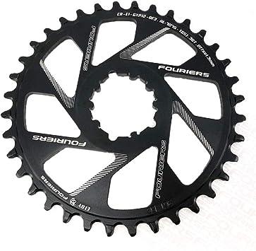 Fouriers MTB - Plato para bicicleta (3 mm): Amazon.es: Deportes y ...