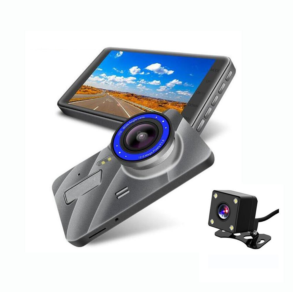 Dashcam Autokamera Video Recorder 178° Weitwinkel-1080P Full HD 4Inch Mit Nachtsicht, Kamera Loop, Gravity Sensor YAYA