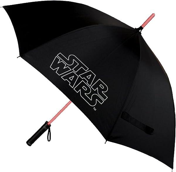 Paraguas Sable laser Star wars con luz incorporada