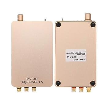 Gamogo Amplificador de Potencia de Audio Digital BT 5.0 Mini ...