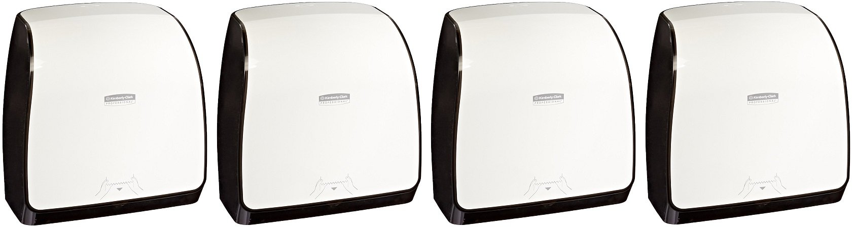 Kimberly-Clark Professional 36035 MOD Slimroll Compact Towel Dispenser, White (4 PACK)