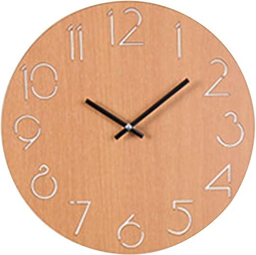 Kkk 3boss Horloge Murale Simple Ronde A Quartz Design
