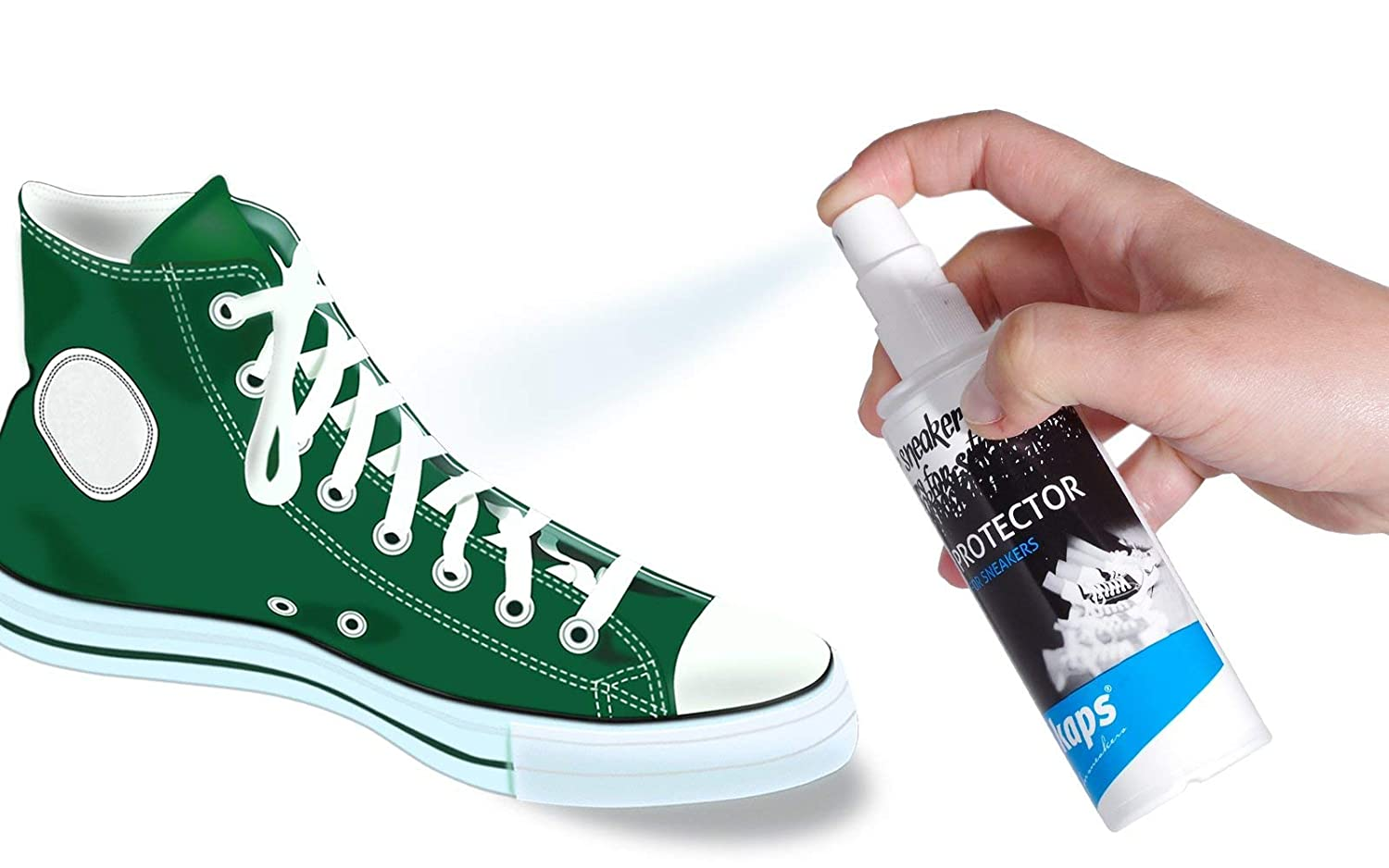 f93679c239a Amazon.com  Water Repellent And Dirt Protection Spray For Sneakers ...