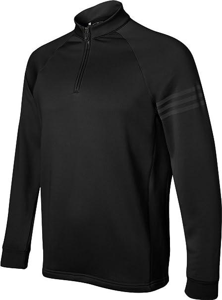 Amazon.com: Adidas Mens Performance 1/2-Zip Training Top - BLACK - X-Large:  Sports & Outdoors