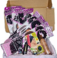 Braid Kit - Full Supply of Braiding Hair:Products for Textured Hair Subscription box