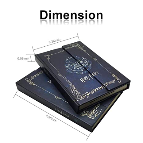 Harry Potter - Cuaderno de notas con calendario, 2018-2019-2020, diseño vintage, agenda de libros, tapa dura, cuaderno de notas: Amazon.es: Oficina y ...