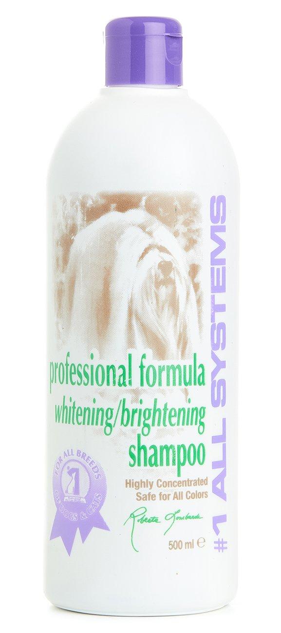 #1 All Systems - Shampoo Sbiancante Professional Formula Whitening Shampoo - Formato Da 500 ml