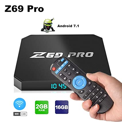 Z69 Pro Android 7 1 Mini PC, 2GB/16GB Android TV Box Supports JIO TV &  HotStar Apps, Amlogic S905W UHD 4K 1080P Smart TV Box Set Top Box TX3 Mini  X96