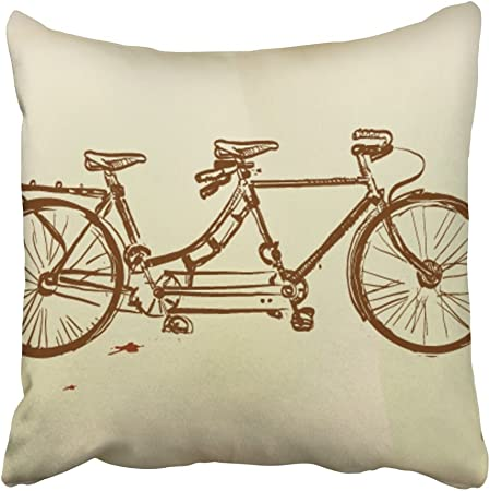 Adelina Bicycle Throw Pillow in 2020