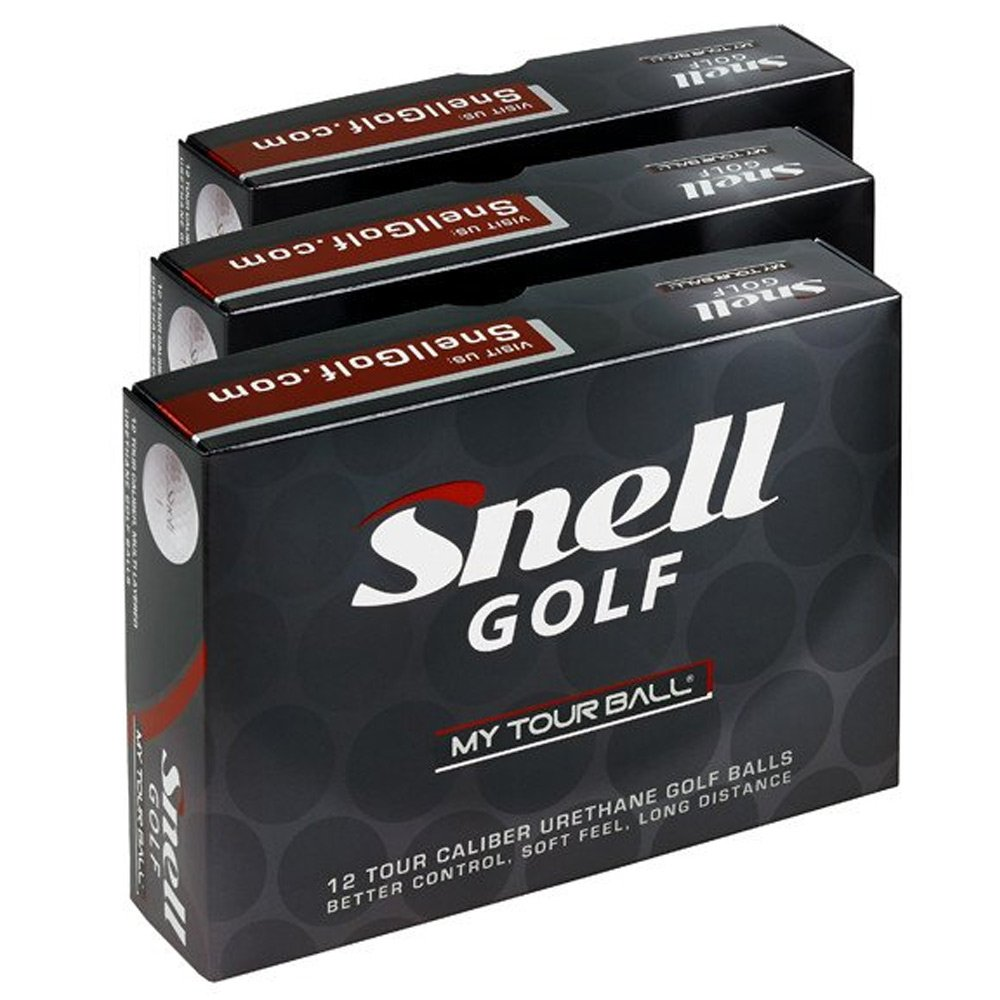 Snell Golf My Tour Golf Balls White (3 Dozens)