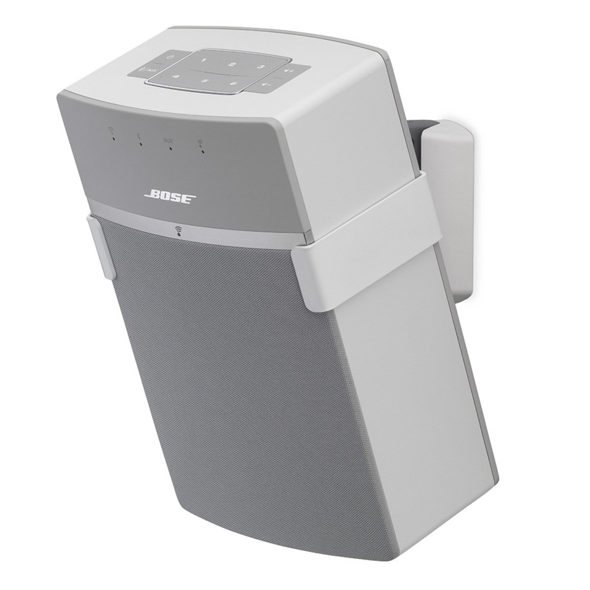SoundXtra Wall Mount for Bose SoundTouch 10 - Single (White)