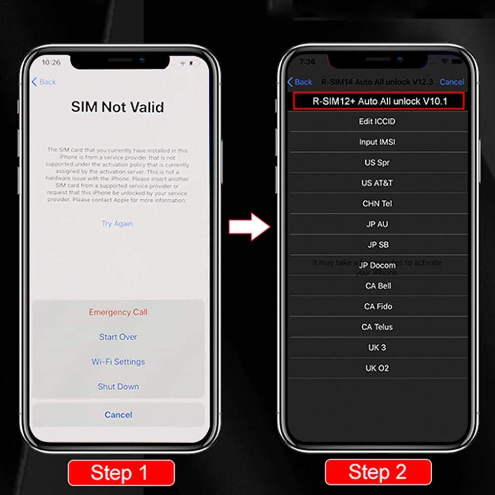 Unlock Card Global Automatic Bomb Menu Version Perfectly Unlock The for iOS X//8//7//6//6s//5//4G 12 X Xr Xs Xsmax Universal reakfaston Universal SIM12