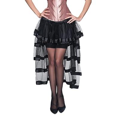 Falda Tul Mujer Años 50 Vintage Gothic Steampunk Irregular ...