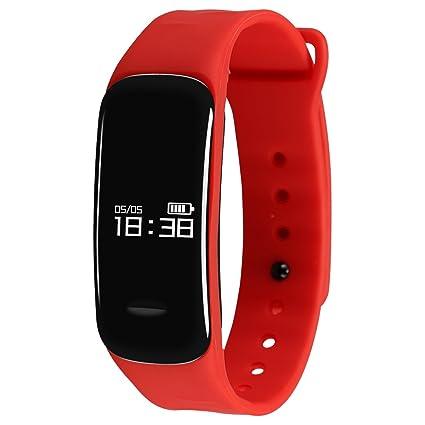 Monitor de actividad física Kivors, smartwatch con monitor ...