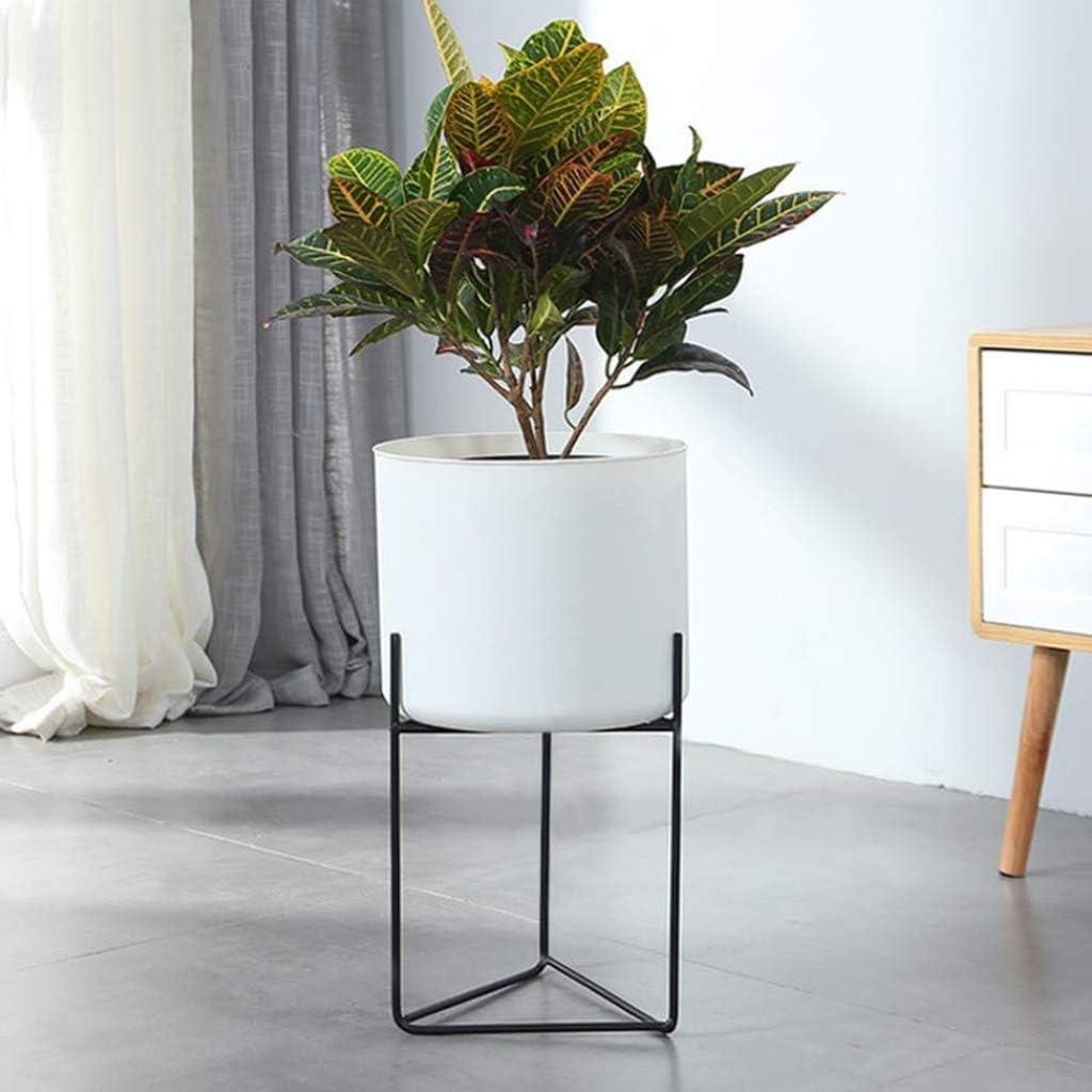 Huahua Furniture Escalera para Flores, Soporte para macetas de Metal para macetas en el Interior, En macetas En el Interior Balcón Interior Jardín Estantes de exhibición Decoración (Color : White): Amazon.es: Hogar